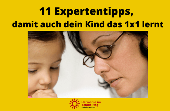 11 Expertentipps, damit auch dein Kind das 1×1 leicht lernt